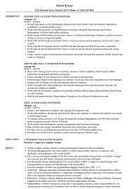 10 Selenium Tester Resume Samples | Payment Format