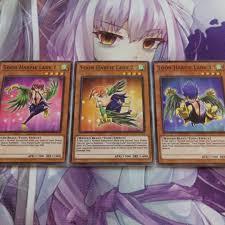 Harpie Lady Deck List by Toon Harpie Lady 1 2 U0026 3 Common Orica Fanmade Yugioh Card