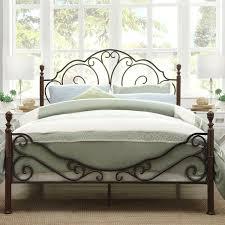 White King Headboard Ebay by Bed Frames Black Metal Bed Frame Double Black Metal Bed Frame