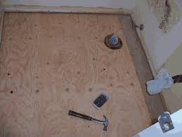basement subfloor step by step