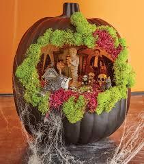 Fake Carvable Pumpkins by Black Pumpkin Fairy Garden Halloween With Joann Pinterest