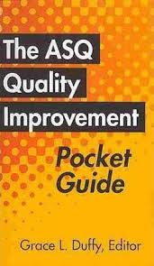 The Asq Quality Improvement Pocket Guide Grace L Duffy 9780873898539
