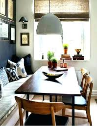Corner Dining Room Tables Bench Table With