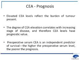 cea test normal range tumor biomarkers for screening progression and prognosis