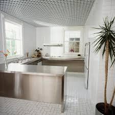 rasterdecke in puristischer küche bild 15 schöner wohnen