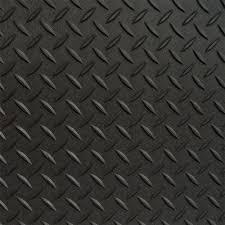 Black Textured PVC Flooring