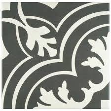 Home Depot Tile Look Like Wood by Merola Tile Twenties Classic Ceramic Floor And Wall Tile 7 3 4