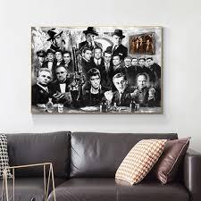 der pate leinwand öl malerei mafia wand kunstdruck poster bild dekorative malerei wohnzimmer dekoration