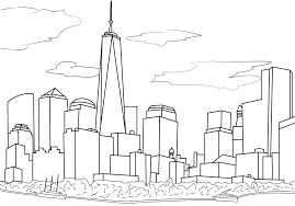 New York For Coloring Pages