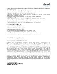 Windows Resume Template Network Administrator Objective Examples System Executive Word