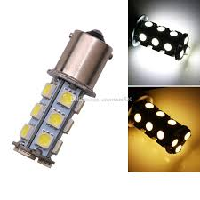 auto bulb s25 5050 18 smd car light brake turn l 1156 1157 t20