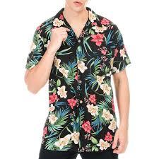100 Coco Republic Sale Mens Stargazer Opencollar Shirt In Black