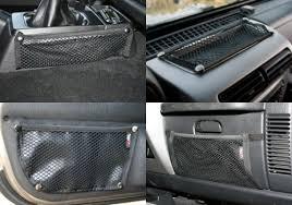 Rugged Ridge Jeep Wrangler Interior Mesh Storage Net Kit