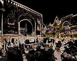 100 Architects In Hyd Dia Telangana Erabad Streetlife At Night 6hh
