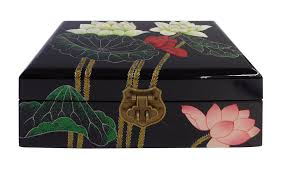 Chinese Oriental Lacquered Jewelry Box | Chairish 6 Drawer Jewelry Armoire In Armoires Oriental Fniture Rosewood Box Reviews Wayfair Boxes Care Sears Image Gallery Japanese Jewelry Armoire Handmade Leather Armoirecabinet Distressed 25 Beautiful Black Zen Mchandiser Innerspace Deluxe Designer With Decorative Mirror Amazoncom Exp 11inch 3drawer Chinese Vintage Lacquer Mother Of Pearl 5 Drawers Oriental Description Extra Tall 38 Best Asian Style Images On Pinterest Style Buddha