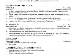 Resume Examples Hair Stylist Assistant New Sample St Hairstylist