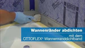 wannenränder im bad perfekt abdichten ottoflex wannenranddichtband