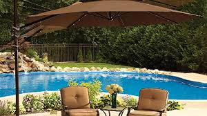 Hampton Bay Patio Umbrella by Cantilever Patio Umbrella Youtube