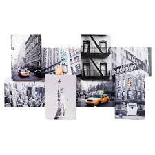deco new york maison du monde ce tableau déco vous offre 8 belles vues de la ville de new york