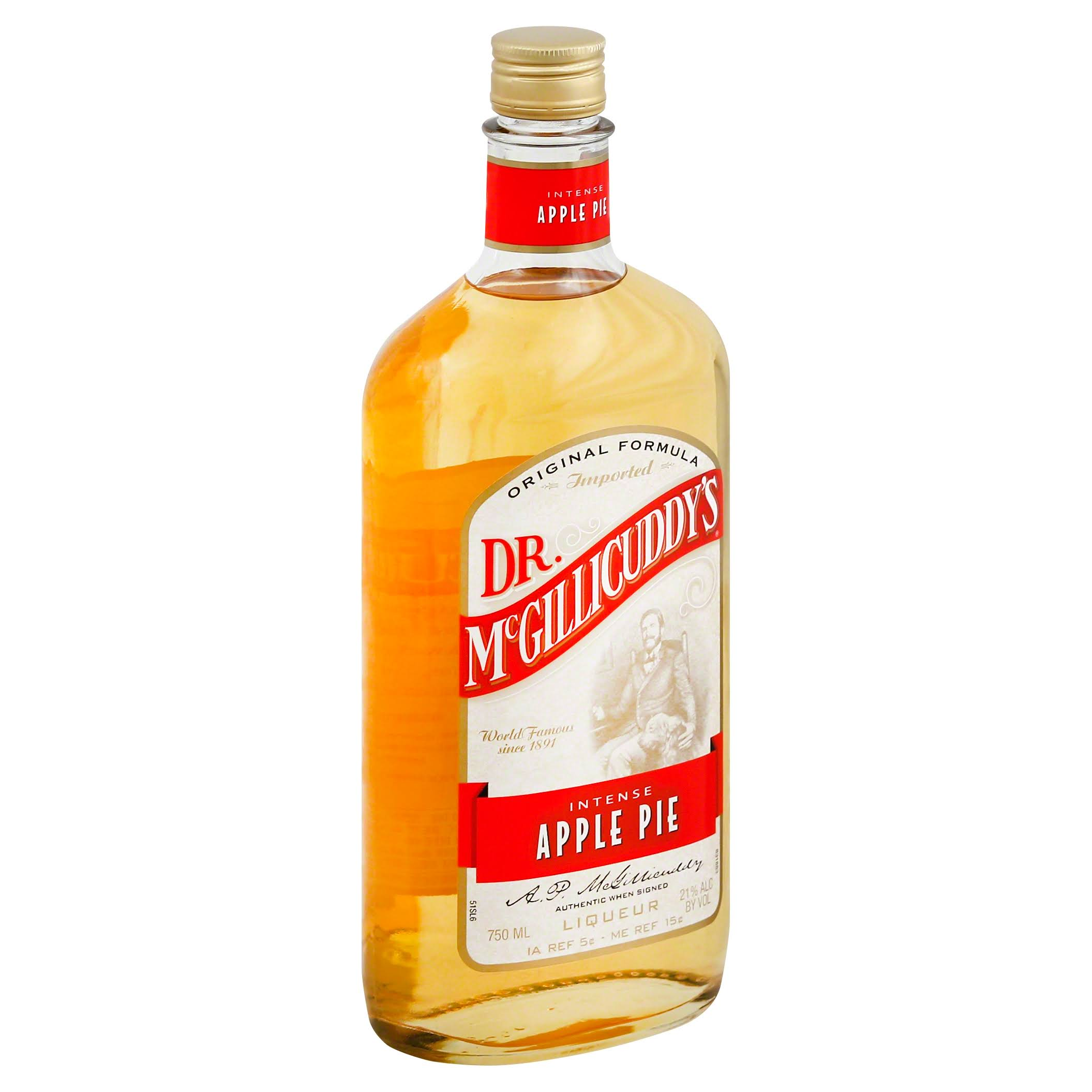 Dr. McGillicuddy's Apple Pie Schnapps - 750ml