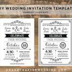 Rustic Wedding Invitation Templates Uk Elegant Designs Free Together