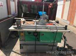 used lurem former 310 si 2011 combined circular saw and moulder