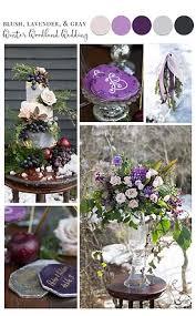 Blush Lavender Gray Wedding Palette And Idea Board