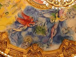 opéra garnier salle de spectacle plafond de chagall dé