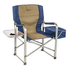 Details About Kamp-Rite CC118 Outdoor Camp Folding Director's Chair With  Side Table & Cooler