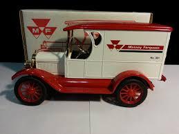 100 Ton Truck ERTL 1923 Chevy Massey Ferguson 12 Ton Truck Bank WH Property Room