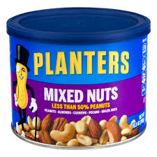 Planters Mixed Nuts 10 3 OZ Walmart