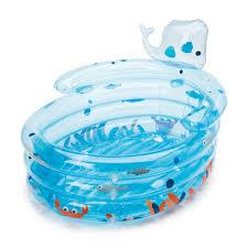 baignoire gonflable évolutive baleino oxybul pour enfant dès la