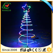 Rope Light Christmas Trees Led Tree Motif Outdoor Indoor Decoration