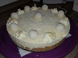 raffaello torte ohne backen no bake raffaello cheesecake