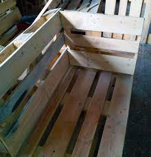 palettenmöbel selber bauen sitzecke mit tisch bau und