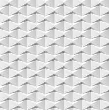 Abstract 3d White Geometric Background Seamless Texture With Shadow Simple Clean Of Tile 3D Interior Wall Panel Pattern
