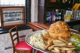 Fells Point Halloween Bar Crawl 2017 by Food To Follow In 2017 The Death Seat Burger At The Old Canal Inn