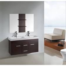 48 Inch Double Sink Vanity Canada by 48 Inch Kokols Wall Floating Bathroom Vanity Double Cabinet With