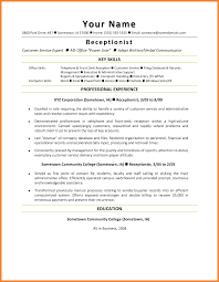 Front Desk Receptionist Resume Salon by Customer Service Operator Cover Letter Client Manager Cover Letter