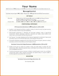 Cover Letter For Front Desk Hotel by Hotel Receptionist Resume Sample Medical Receptionist Job