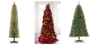 7 Ft Pre Lit Cashmere Pencil Artificial Christmas Tree Reg 12499 5999 Free Shipping Final Price Shipped