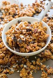 Pumpkin Flaxseed Granola Nutrition Info by Chewy Chunky Granola Flaxseed Granola And Food