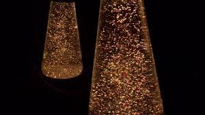Lava Lamp Bulb Walmart by Lava Lamp Golden Glitter Light Two Minutes Of Zen Youtube
