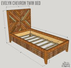 How To Build A West Elm Knockoff Bed
