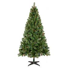7ft Slim Christmas Tree by Prelit Slim Christmas Tree Target