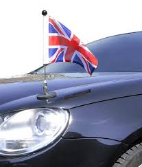 Flagpole Christmas Tree Uk by Magnetic Car Flag Pole Diplomat 1 Great Britain Amazon Co Uk