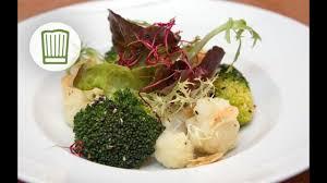 gebratener blumenkohl und brokkoli mit kräuterquark chefkoch