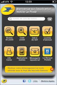 la poste bureau spiderdreams portofolio and mobile applications