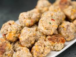 Spicy Pimiento Cheese Sausage Balls Recipe
