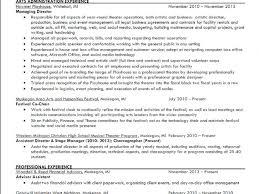 arts administration sle resume haadyaooverbayresort